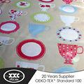 novo design de moda boa qualidade de tecidos para cortinas da cozinha