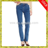 2015 new style women jeans, costomized color pant,export America.