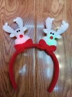 factory wholesale Mary Christmas light headband , Santa Claus headband