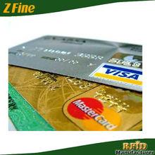 PVC printing VISA card and Master card