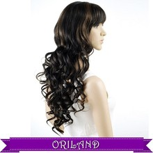 Brazilian curly hair synthetic 5a synthetic afro curly hair