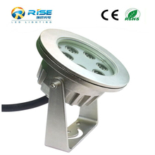 High quality CE Rohs 316 stainless steel IP68 led pool light Led pool lamp 6w led underwater light