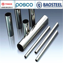 ISO certificated supply 304stainless seamless steel pipe made in china for wholesales