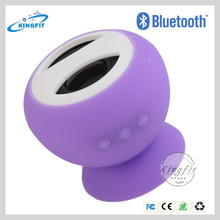 2014 New Updated Cheap Price of Bluetooth Mini Silicone Sucker Car Speaker