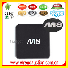 WholeSale Android Smart TV Set Top Box with Full HD 1080P Wireless DisPlay DLNA Ezcast Mirror TV