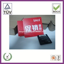 Eco-Friendly Customized Paper Cute Hand Tag for Promotion Custom Print Paper Swing Tag