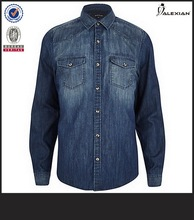 washable jeans man shirt oxford