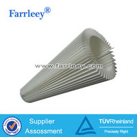 Farrleey Pleat dacron rolls filter material