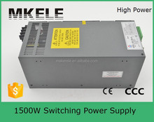 SCN-1500-12 125a high current ac dc 1500w 12vdc single output switching power supply