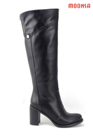 XG064 russian comfortable latex thigh high rubber boots