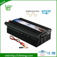 Small size high low reverse transmission 500 watt dc 12v 220v solar power inverter battery for home use