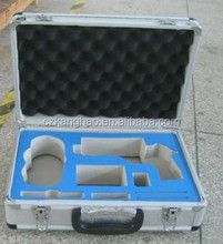 Factory directly sell aluminum box packing foam,egg crate shape packing foam, hardware tool packing sponge