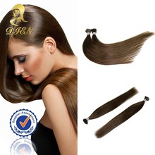 Natural raw indian human hair extension,16 inches indian virgin hair silky straight wave