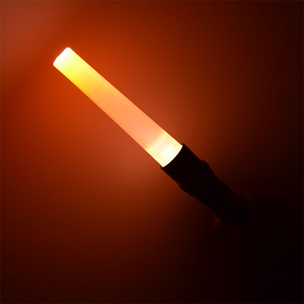 500295) traffico baton torcia elettrica ricaricabile in alluminio ...