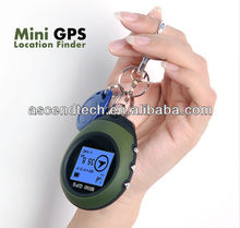 Mini GPS tracker without sim card geographic coordinates, directions, world time, distance, mileage, and velocity information