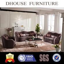 high quality AL042 antique classic fabric sofa