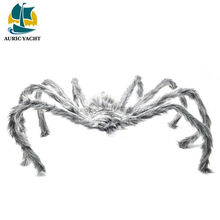 Guangdong manufactory excellent quality halloween candle with spider logo