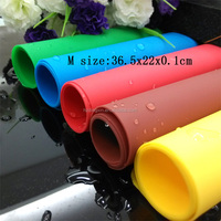 Home Kitchen Silicone Rolling Cut Mat Fondant Clay Pastry Cake Sugarcraft Tool