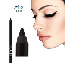 Eco-friendly PE body sharpening waterproof black eyebrow pencil
