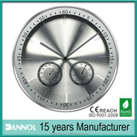 12 Inch Quartz Weather Station clock premium gift/digital wall clock/steampunk pocket watches