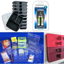 packaging plastic for food, electronics, cosmetics, clamshell