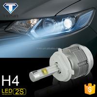 Wholesale fanless auto car kit led headlight bulb h4 for toyota fielder