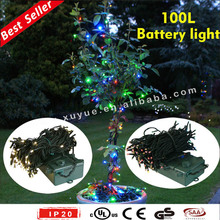 100L outdoor battery operated LED light with timer