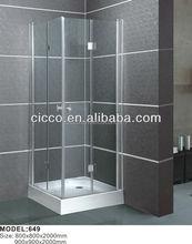 abs vasca coperta o acrilico smerigliato una facile pulizia nano vetro doccia personalizzate cabina doccia in fibra di vetro