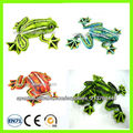 felpa animal de la selva juguetes animales silvestres de rana