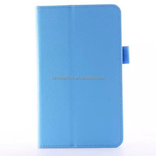 Good quality Litchi Grain PU Leather Cute Protective Tablet cover,7 Inch Cover For Acer Pad