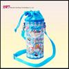 Plastic Shoulder Strap Water Bottle Bag