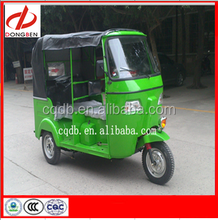 2015 New Model CNG Gasoline Auto Taxi Passenger Tricycle Three Wheel Bajaj For Bangladesh, India,Afirca Market