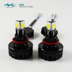 factory HS5 H11 24W 2500 lumens 3 sides 360 emitting h4 led headlight bulb for motorcycles