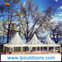 Beautiful clear marquee clear pagoda tent clear wedding marquee 5x5m