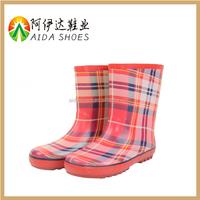 kids cheap red waterproof shoes rubber children rain boots