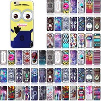 Cheap Custom Printing Hard Case for iPhone 4 5 6 Cute Despicable Me Minions Cover