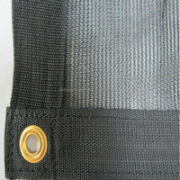 HDPE roof 6 knitted green shading net with UV protection life span 3-5 years made in china