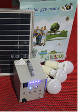 solar system for home light and mobile charger in africa