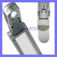 Mini LED Reading Foldable Clip Light Fold Book Lamp