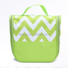 300D Polyester Wash Bag Hot Chevron Printed Cosmetic Bag Fashion Toiletry Bag