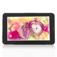 Wholesale phablet 7 inch 2G phone tablet wireless bluetooth dual sim double camera