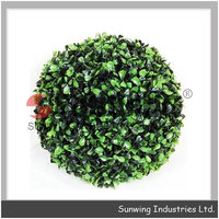 artificial boxwood grass plant cylinder boxwood topiary