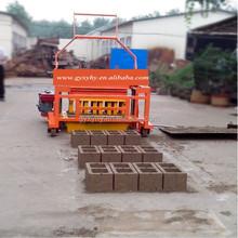 Good quality Hongying QMY4-40 brick molding machine for myanmar