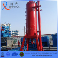 gas or oil field drilling mud slurry oil fluid gas separator with best quality