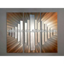 high quality abstract 3D metal wall art for hotel projects