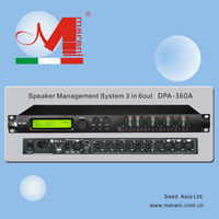DPA-360A 3INT/6OUT DSP Speaker Management Processor