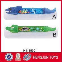 EN71/7P new items eco-friendly rubber ocean animal water gun for summer toy