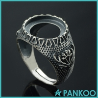 Wholesale 925 Sterling Silver Ring Settings Without Stones For Men