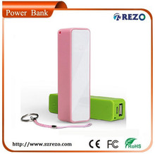 new products on market lipstick 2600mah manual for power bank distributor