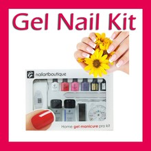 with cuticle oil gel nail kit, nail care kit, nail kit with lamp